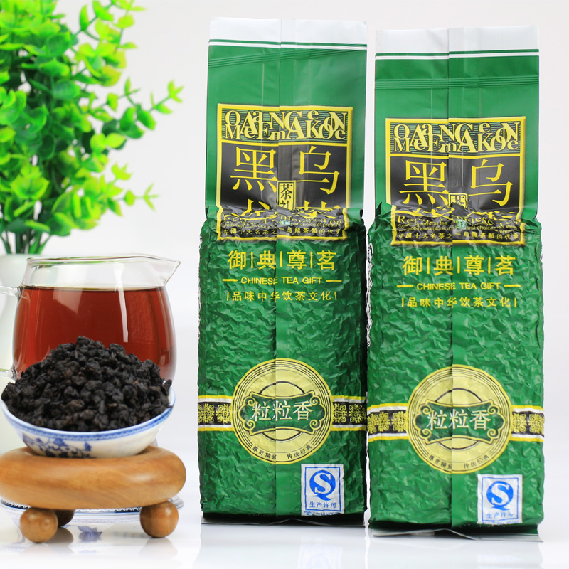 Black oolong tea oil cut black oolong tea tieguanyin luzhou anxi tie guan yin high concentrations of charcoal roasted taiwan