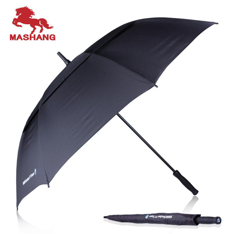 Bmw 5 series automatic folding umbrella skillet windproof umbrella double oversized umbrella automatic umbrella free shipping
