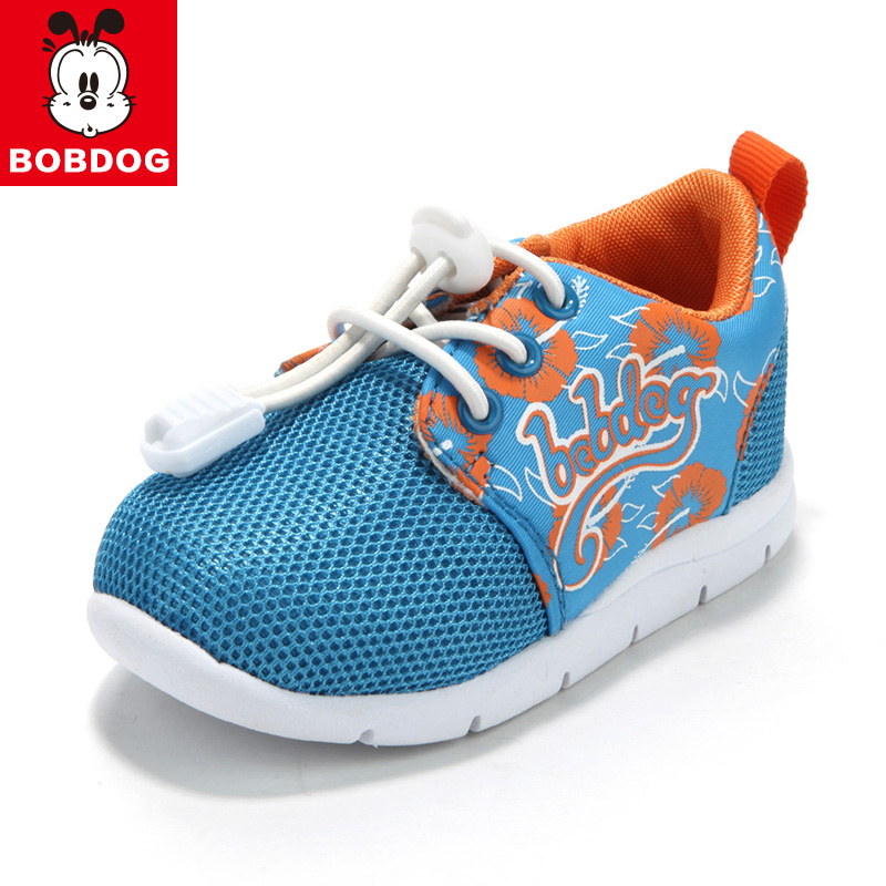 Bob dog autumn models of child small child mesh sports shoes men casual shoes baby toddler shoes girls shoes soft bottom baby shoes