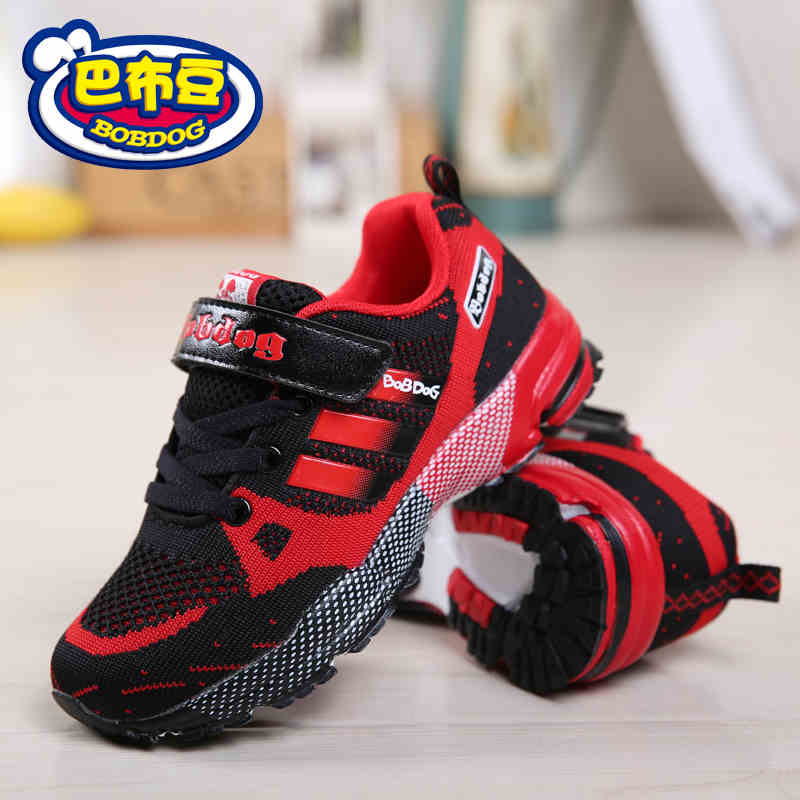 Boys Mother & Kids Latest Collection Of Walking Sneakers For Boys Summer Breathable Mesh Boys Sport Shoes Blue Red Boys Children Sneakers Light Kids Running Shoes Bright Luster