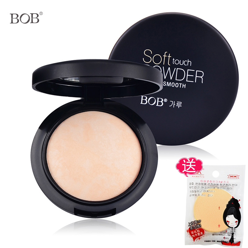 Bob shipping sugar porcelain baking powder powder concealer makeup oil control dingzhuang powder zero sense of nude makeup makeup makeup beauty
