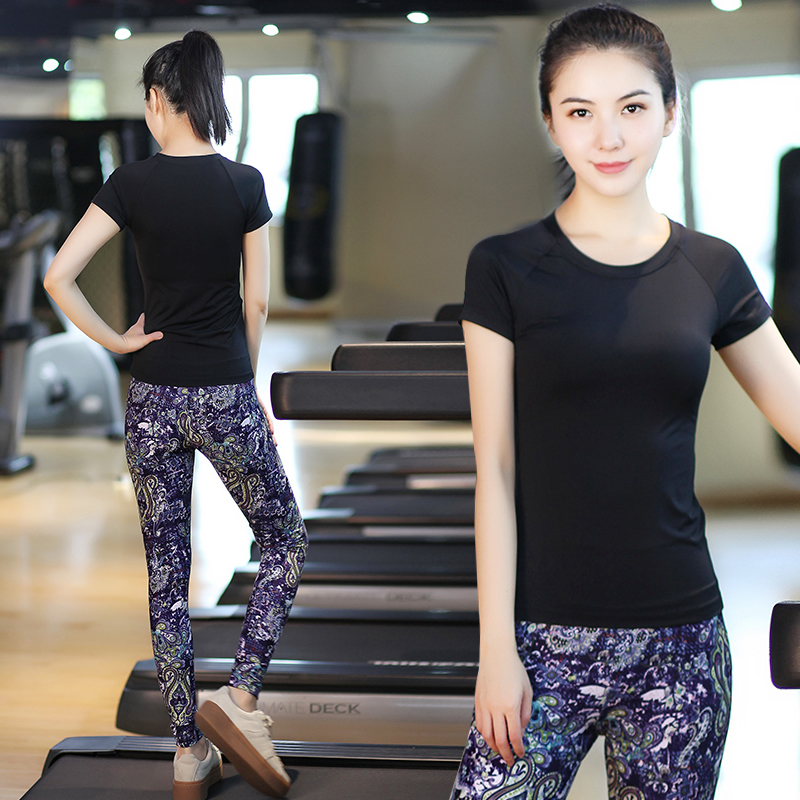 Bodhisattva ti yoga clothes yoga clothes suit 2016 summer female korean tight gym clothes jogging pants yoga clothing was thin