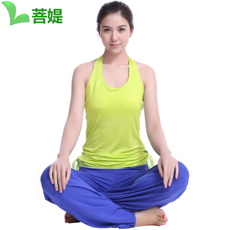 Bodhisattva ti yoga clothes yoga suits spring and summer new korean yoga clothes yoga clothes gal dance workout clothes yoga vest