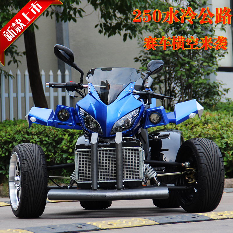 Bombardier motorized four all terrain atv 250cc water cooled motorcycle sports car street car racing kart