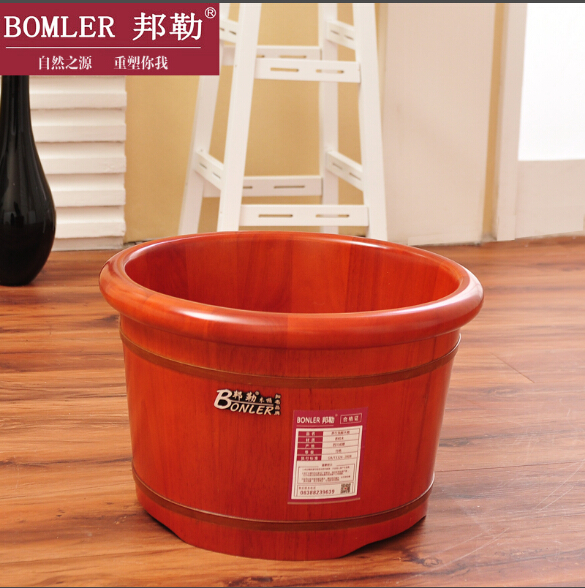 Bonler/bangle 26 high grade oak casks foot tub footbath feet barrel cask foot tub feet barrel barrel barrel