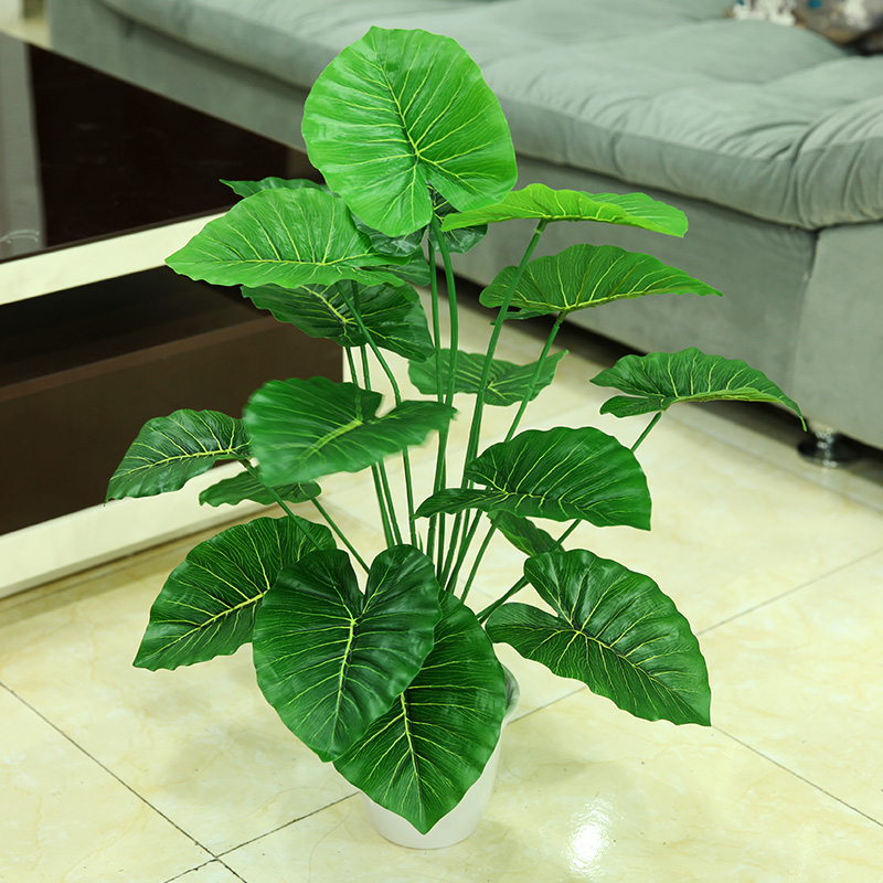Bonsai plants fake plants plastic decorative potted plant simulation simulation green radish plants potted indoor plants