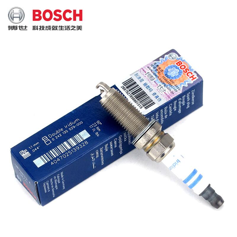 Bosch double platinum spark plugs applicable octavia/crystal sharp/sunny/jetta/gore cardiff 6/sagitar /Touran