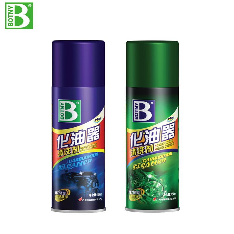 Botny carburetor throttle cleaning agent strong detergents to clean the carburetor mechanical cleaning agent