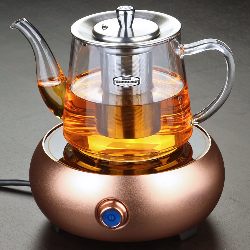 Bowring dedicated multifunction cooker cook teapot stainless steel filter heat health tea kettle electric ceramic heaters Kit