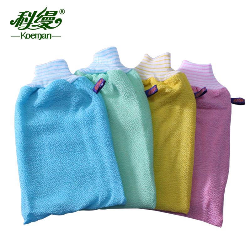 Branch unadorned thick double increase cuozao towel strong exfoliating dead skin rubbing mud bath gloves bath towel chopping