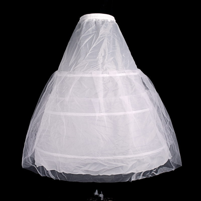 Bride wedding dress petticoat pannier wedding accessories panniers three rims double gauze tutu special necessary qca