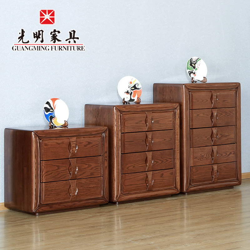 Bright furniture all wood furniture imported red oak chest of drawers storage cabinets chest of drawers drawer storage cabinets lockers