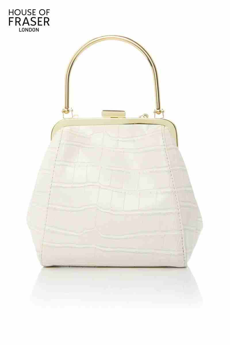 Get Quotations British Brand Therapy Ms White Embossed Chain Hand Bag Banquet Afternoon Tea With Friends Fashion