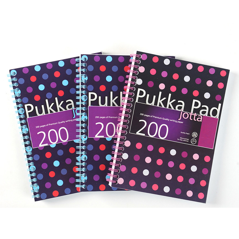 British pukka pad to send cards origin series business is easy to tear take creative blue purple student notebook a5 | a4