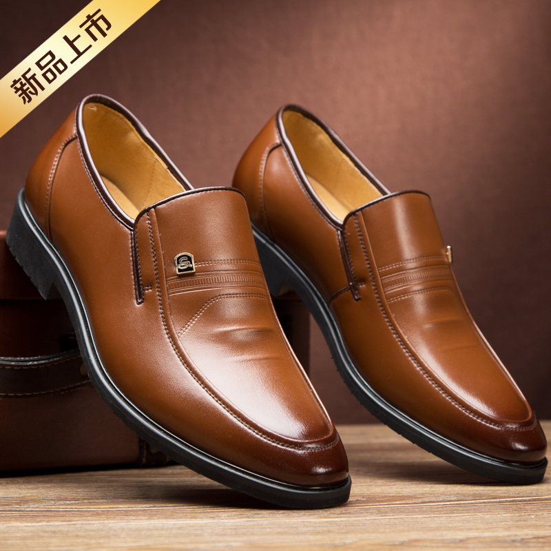 乔奈british style shoes men 2015 new men's business dress shoes leather shoes set foot in summer men's shoes