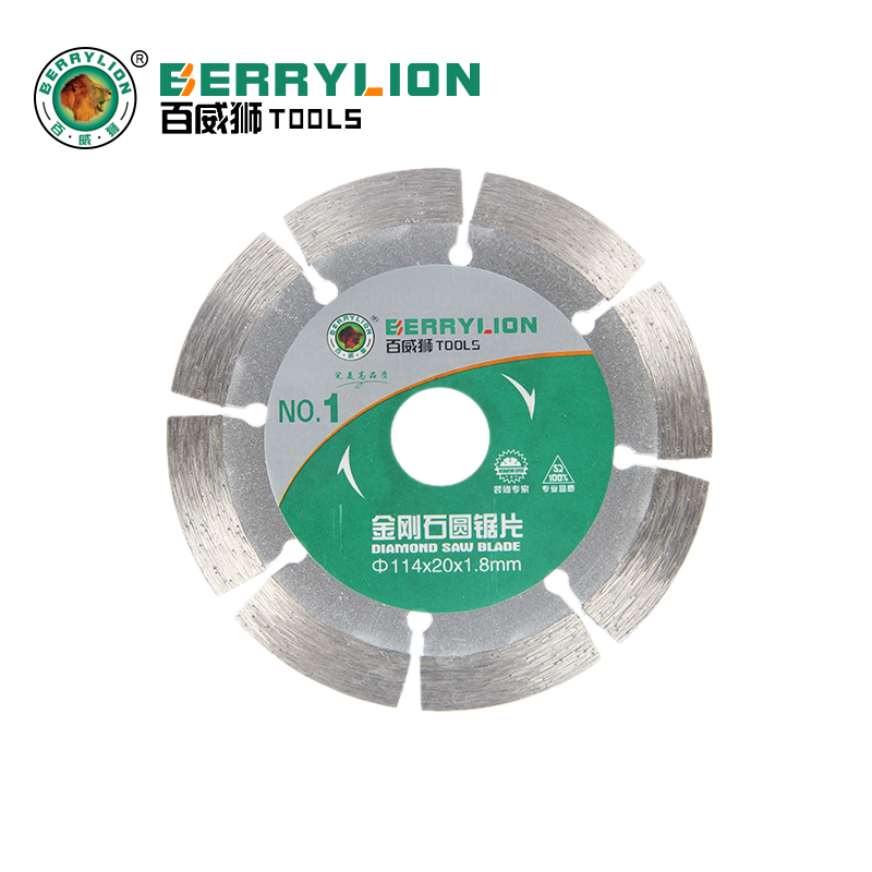 Budweiser lion dry cutting diamond saw blade diamond saw blade slotted piece of stone tile cutting disc special