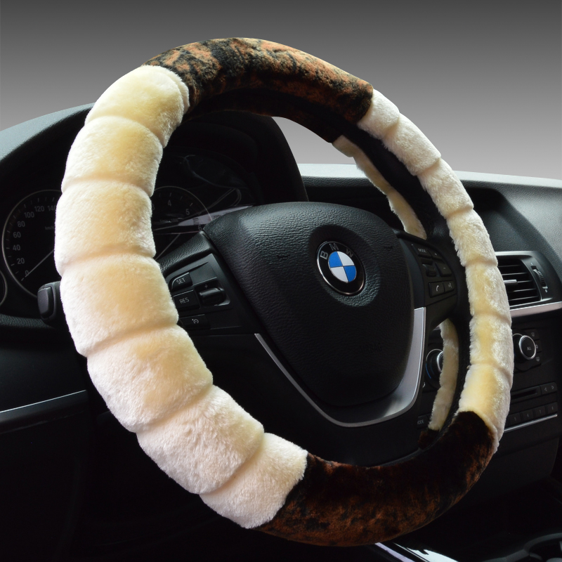 Buick excelle ang kela regal lacrosse hideo xt gt ang kewei winter plush steering wheel cover car to cover the parties