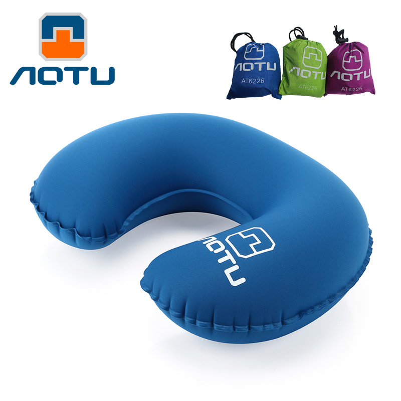 Bump outdoor inflatable pillow travel sambo u u type inflatable pillow travel pillow airplane pillow neck pillow neck pillow