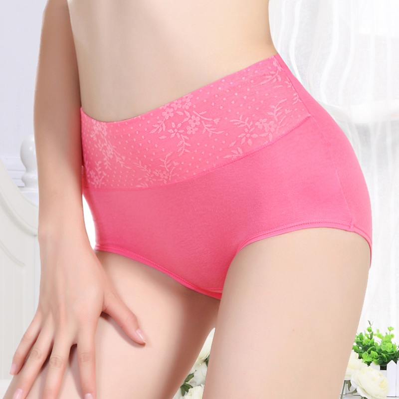 Buy 5 get 1 at the beginning of pure new sexy underwear waist shoufutitun nuangong body breathable underwear free shipping