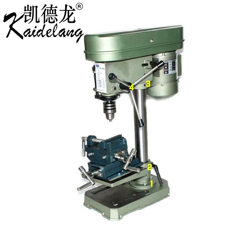 Cade dragon small miniature bench bench drill press multifunction cross drill stand household beads milling machine