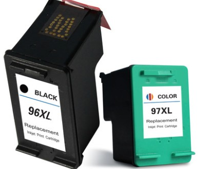 Cai xiong applicable hp hp deskjet 5740 6540 6840 9800 97 black ink cartridge hp96