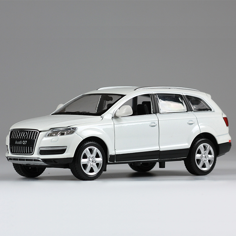 Caipo 1:242014 audi q7 suv suv four door open light alloy car model simulation of children's toys