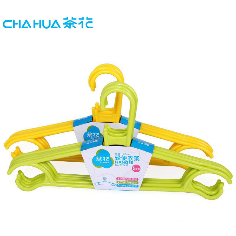 Camellia hanger adult hangers plastic hangers thick brace slip clothes hanging clothes hanging rack pants hanger hook racks thickening