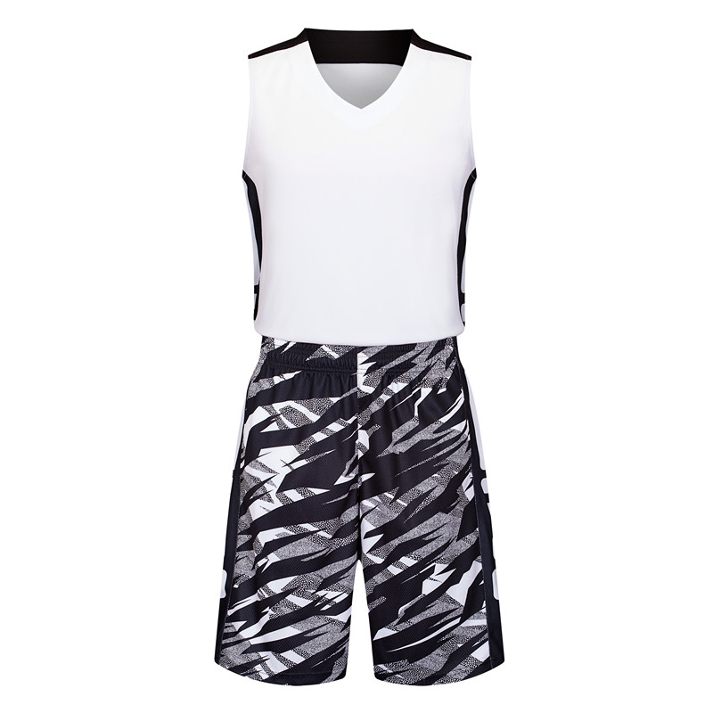 Camouflage basketball uniforms male basketball jersey vest basketball jersey sports competition and training uniforms buy printing diy