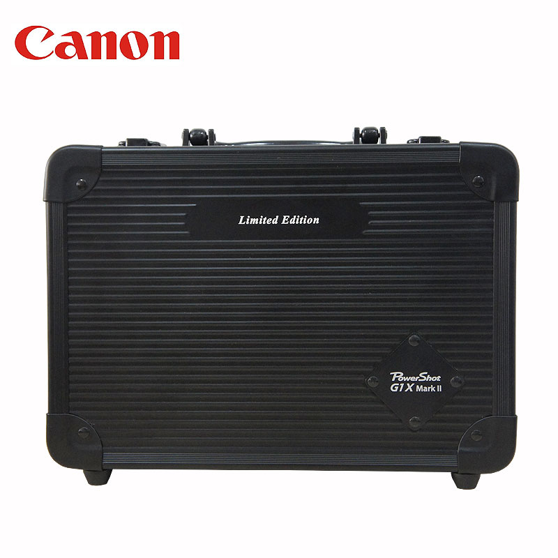 Canon/canon powershot g1x mark ii nameplate custom metal box limited edition camera bag