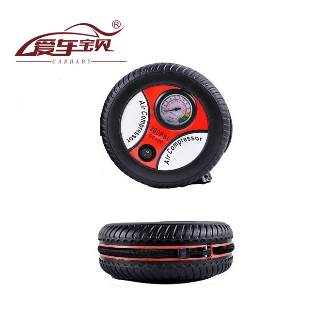 Car air pump car tire inflator pump playing pump car air pump air pump genuine 19 v mini cylinder horsepower