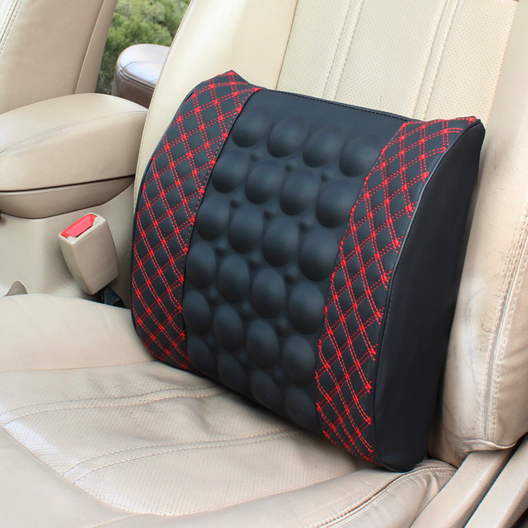 Car electric car waist lumbar pillow car massage cushion seat cushion back to protect the lumbar cushion supplies