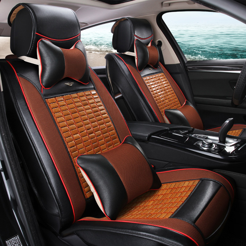 Car magic speed s6 bamboo mat monolithic backless car seat cushion seat cushion five unisex magic speed s615