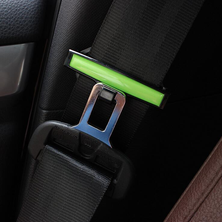 Car seat belt holder with child care for the elderly elastic clip car with a car seat belt tension adjustment