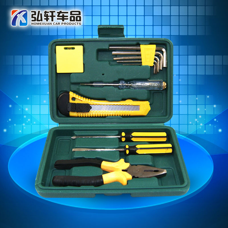 Car tool kit car repair tool kit lorry emergency kit combination tool kit box car home decoration