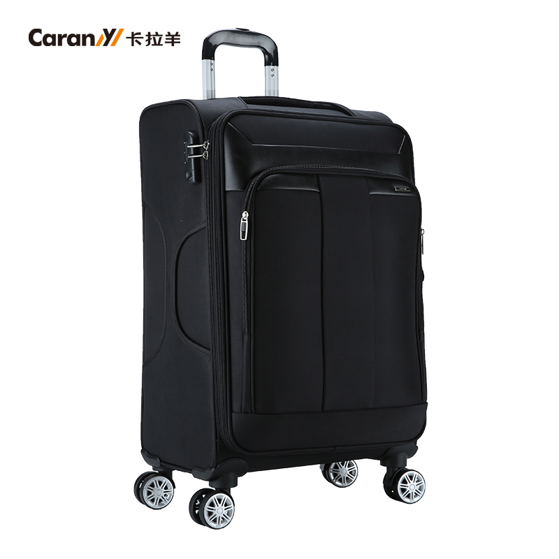 Caran trolley business travel box 20/24 inch password lock box leisure aircraft wheel mute luggage box