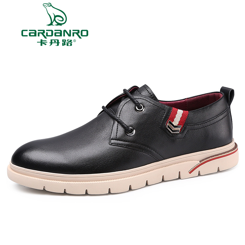 Cardan new fall outdoor tooling leather shoes casual shoes bulk shoes lace shoes british fashion shoes