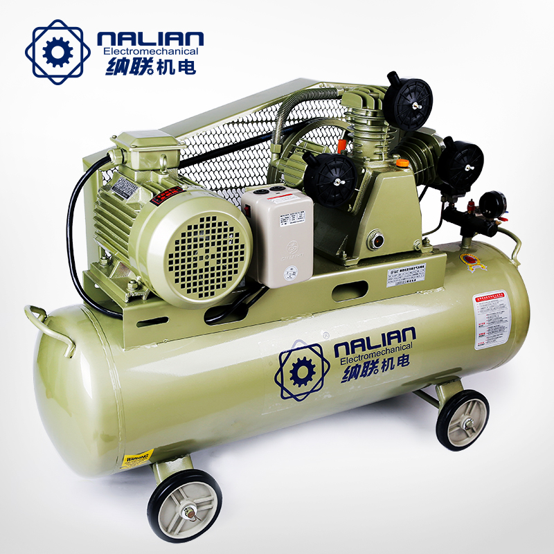 Carolina alliance belt air compressor air compressor carpentry painting small air pump inflatable pump industrial high pressure air pump