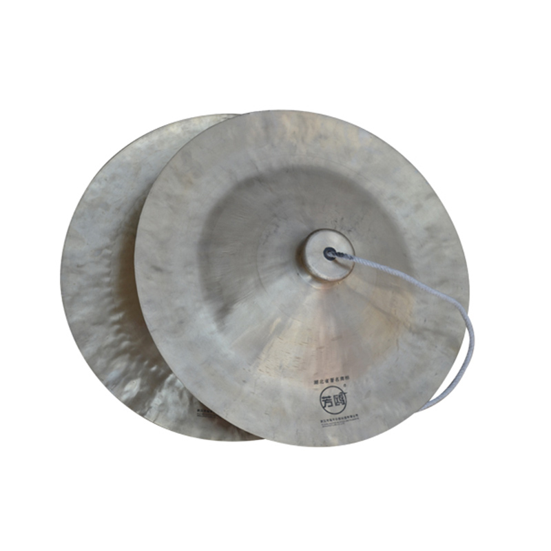 Carolina english musical band cymbals copper gong cymbal percussion cymbals ring copper cymbals 33CM wide cap china ethnic percussion instruments
