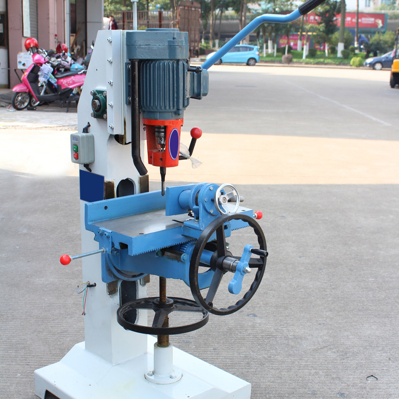 Carpenter square single axis square hole drilling machine drilling machine drilling machine mortise and tenon mortise machine pneumatic square Eye machine