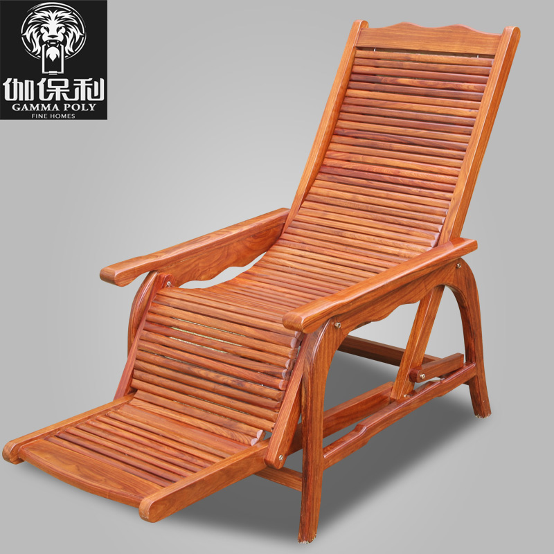Get Quotations · Carved Mahogany Furniture Of Ming And Qing Classical  Chinese Antique Wood Chairs Beach Chair Recliner Lounge