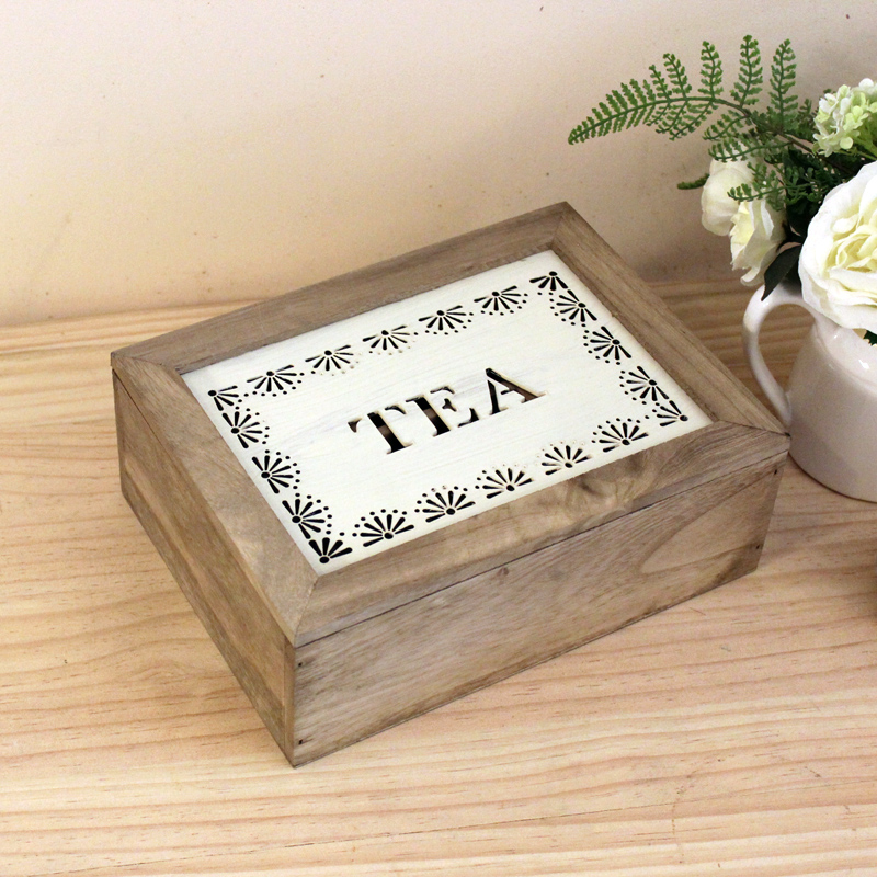 淇园carved wood tea tea storage box 6 grid 9 grid box jewelry box storage box wooden coffee decorative containers