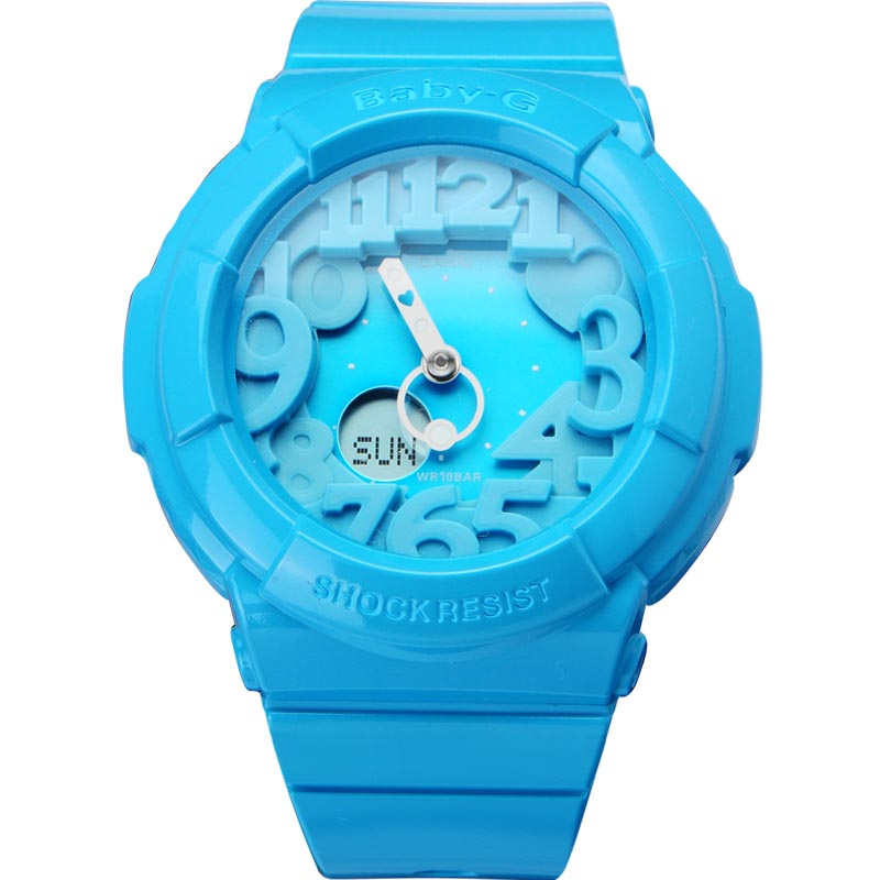 Casio baby-g watches outdoor sports watch waterproof electronic watch fashion female form bga-130-2b
