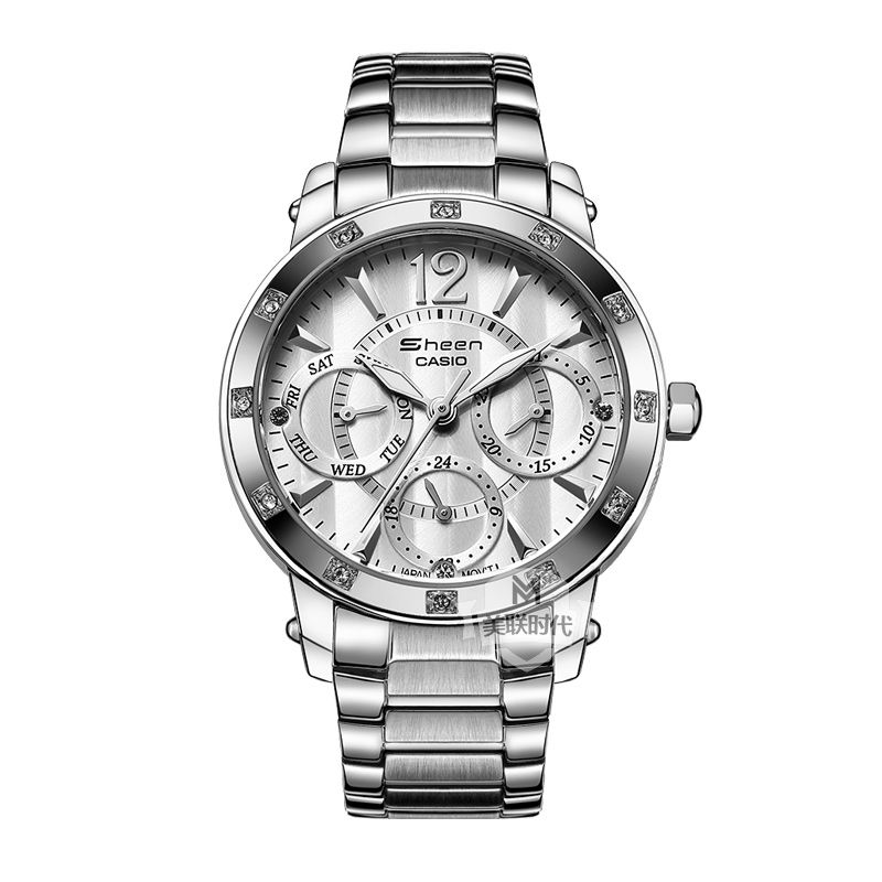 Casio watches casio ladies watch ladies fashion female form diamond watch free shipping shn-3012d-7a