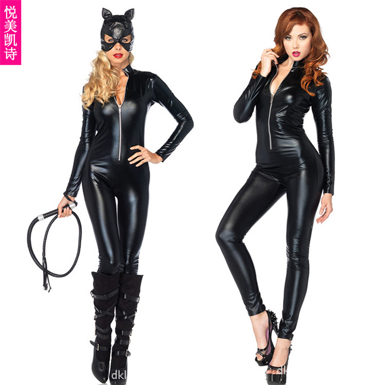 Cat ladies cat girl halloween costume dress posh nightclub party dress uniforms temptation ds stage costumes