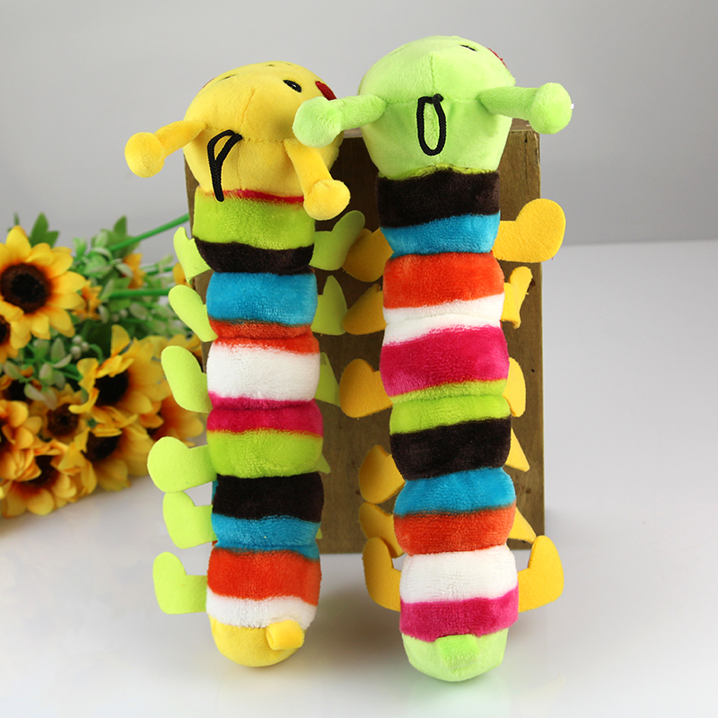 Caterpillars sound toys dog toys pet toys plush toys sound toys toy dogs and cats
