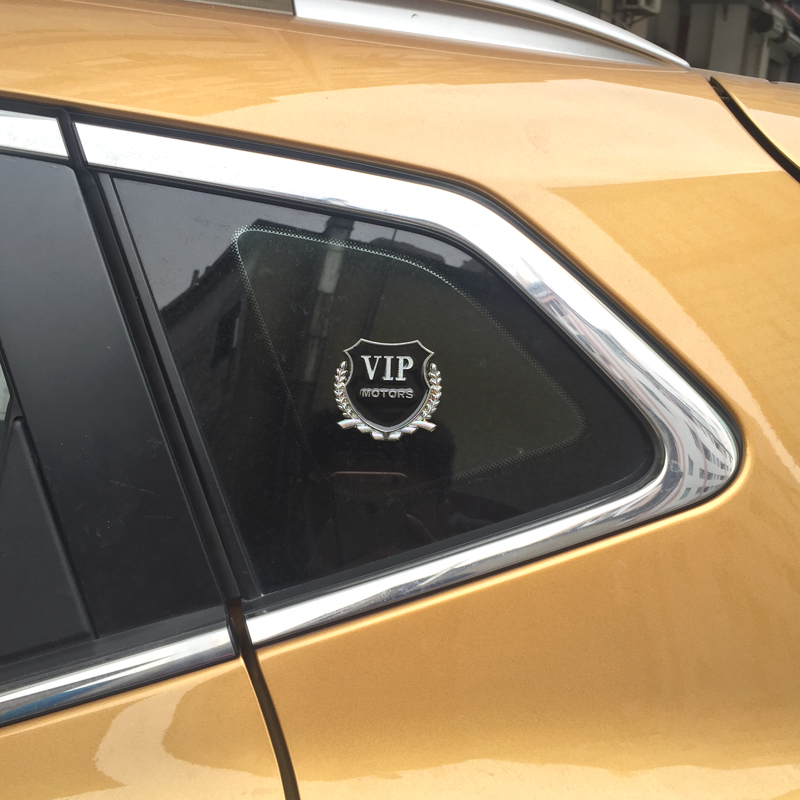 Cause still xt changan automotive exterior decoration refit vlps metal side labeled wheat car stickers stereoscopic personalized car accessories