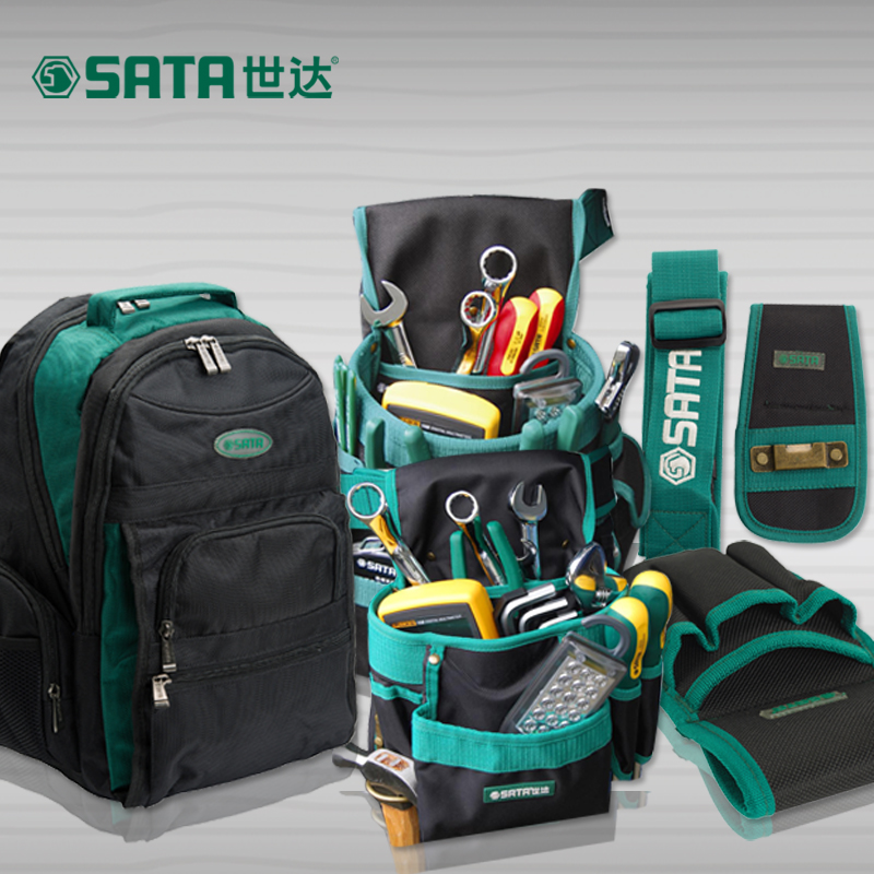 Cedel sata hardware maintenance electrician tool kit bag backpack shoulder bag big bag nylon tool bag pockets