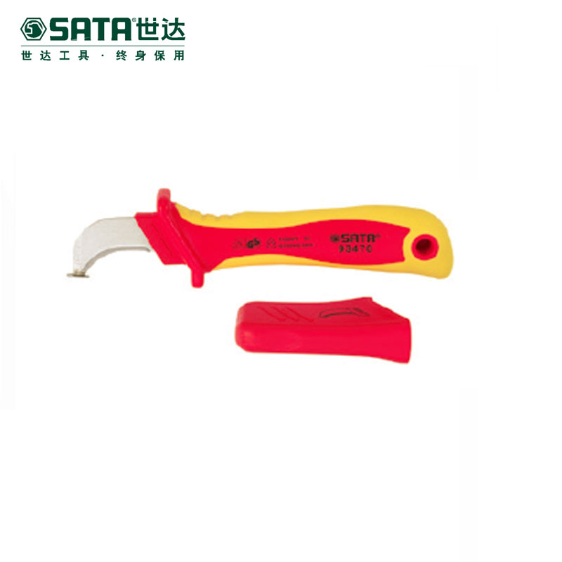 Cedel sata hardware maintenance tools vde insulation voltage protection electrician knife cable stripping knife 93470
