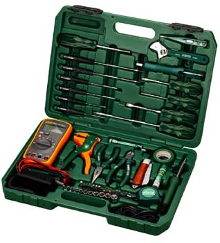 Cedel tool kit 53 telecommunications service cedel electrician tool kit home hardware tools 09535
