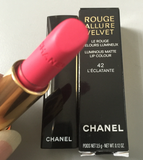 Chanel/chanel lipstick charm xuanliang 42 #43 water bright/intense brilliant blue gold lipstick/lip balm color test Defects